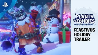 Plants vs. Zombies: Battle for Neighborville - Feastivus Holiday ft. Sir Patrick Stewart | PS4