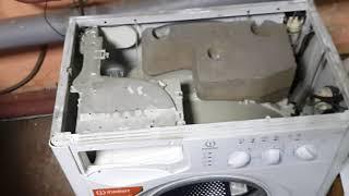 Как разобрать стиральную  машинку indesit WISL103
