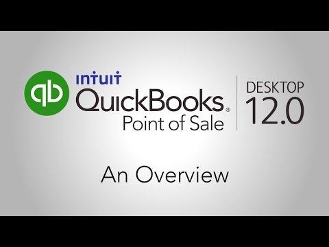 QuickBooks Point of Sale Desktop 12.0 Overview