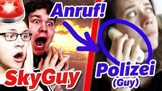 Wir rufen POLIZEI an wegen HATER! 😵 Verarschen SkyGuy & Abgegrieft (wieder) ihre Zuschauer?