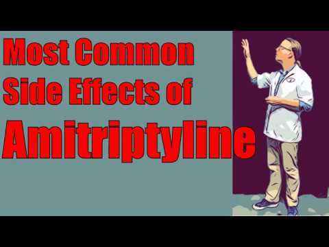 Most Common Side Effects of Amitriptyline