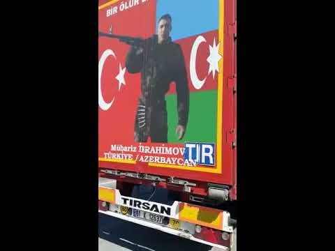 Türk TIR sürücüsünün Mübariz İbrahimov sevgisi...