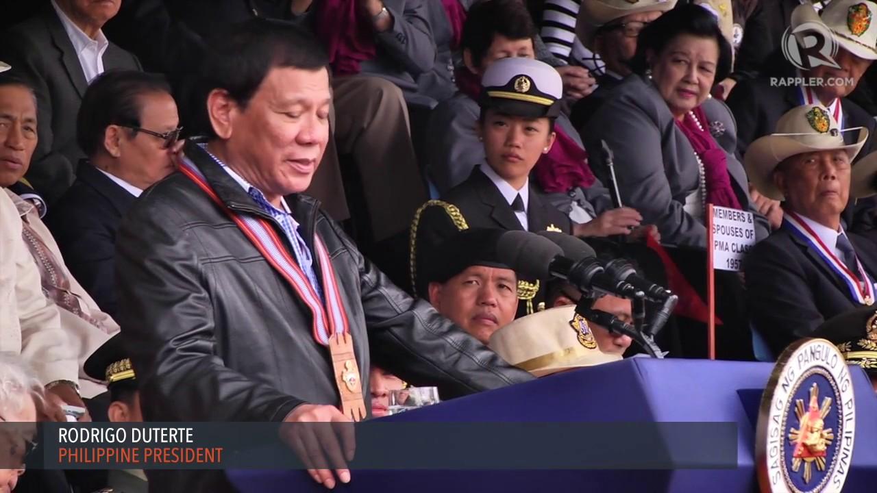 speech about alumni meet the president