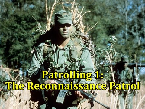 Patrolling 1: The Reconnaissance Patrol | Vintage US Army Film