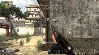 CoD:WaW Springfield Action PC Gameplay 2014