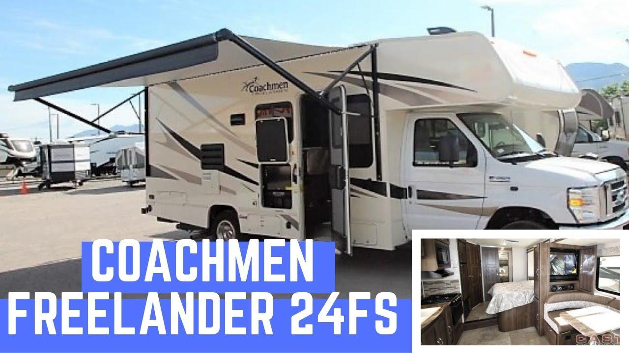 Tour Of A 2020 Coachmen Rv Freelander 24fs Class C Motorhome Youtube