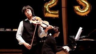 SARASATE Zigeunerweisen op. 20 - Elias David MONCADO - 1er Grand Prix violon, concours FLAME 2014