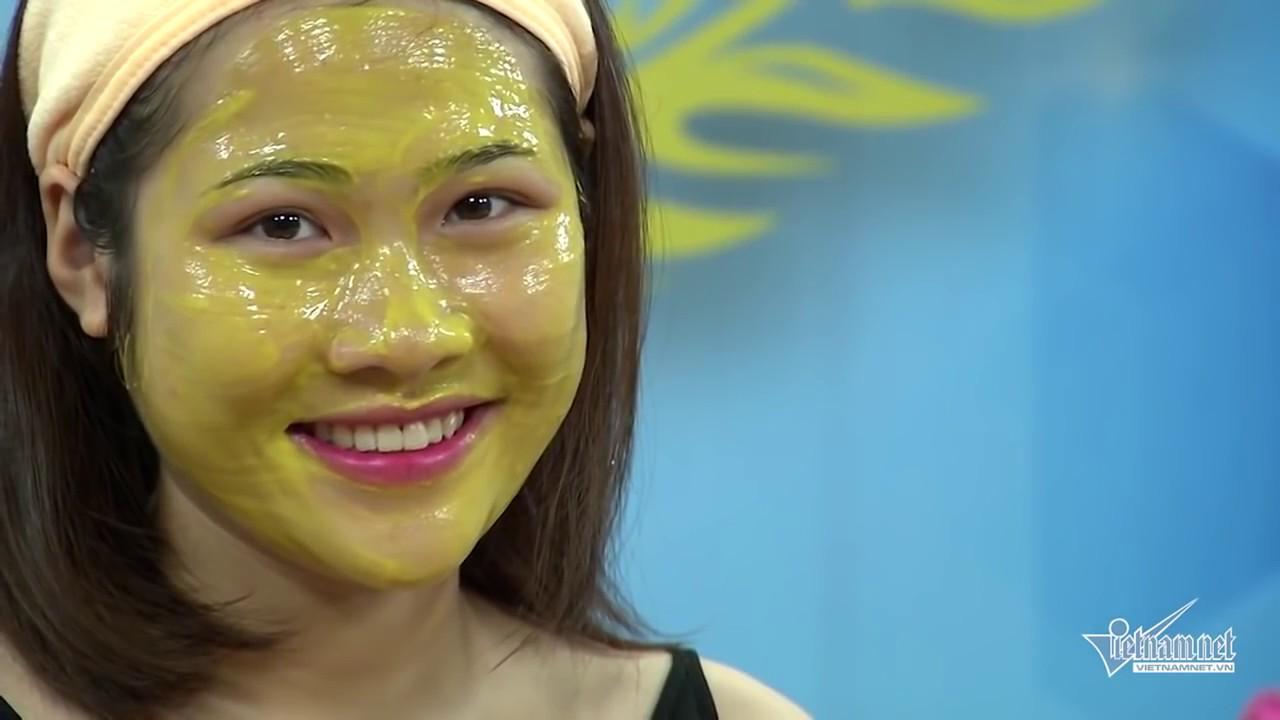 [[CHIA SẺ]] Cách đắp mặt nạ bột nghệ và mật ong làm trắng da và trị mụn| Mật ong rừng – AnTo Bee