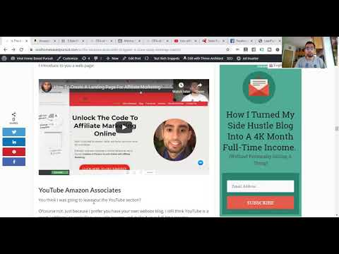 Amazon Affiliate Marketing Tutorial A Beginner's Step By Step Guide thumbnail
