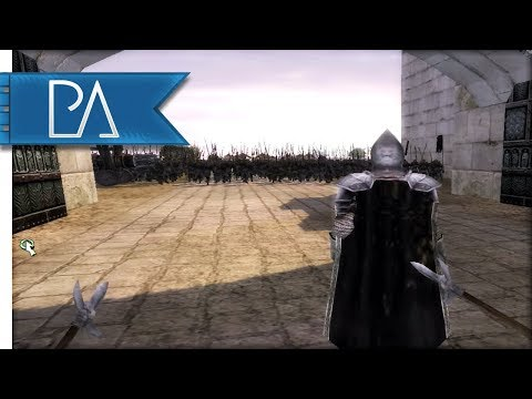 DEFENSE OF MINAS TIRITH IN THIRD PERSON - Third Age Total War: Reforged