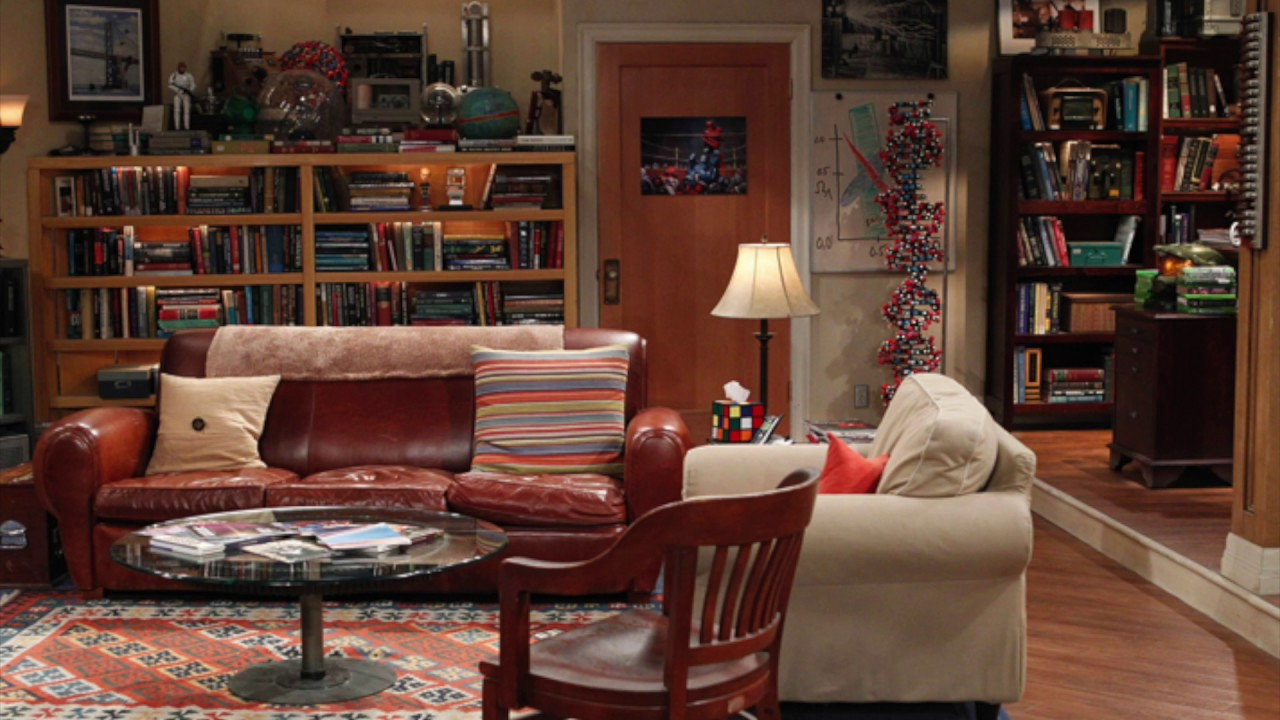 Asmr The Bang Theory Ambience Evening In Sheldon Leonard S Apartment