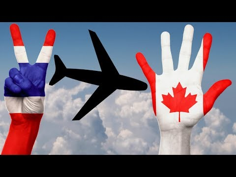 PEACE THAILAND & HELLO CANADA!  Flying experience