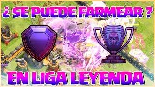 ¿ SE PUEDE FARMEAR EN LIGA LEYENDA ? - FARMEANDO TH11 #24 - Clash of Clans - Español - CoC