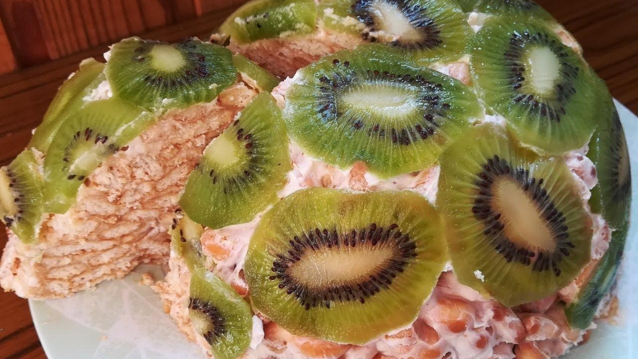 Рецепт торта из рыбок и сметаны и бананов с фото — pic 10