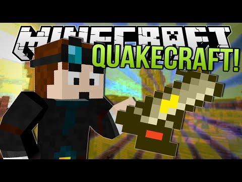 SLIGHTLY SHINY GUN   Minecraft: QuakeCraft Minigame!