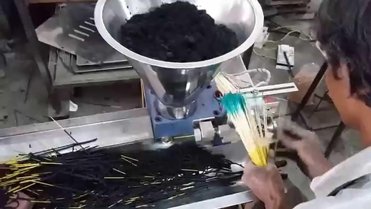 Semi Automatic Agarbatti Making Machine Youtube
