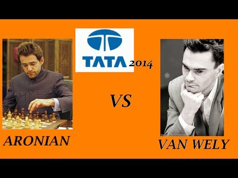 Tata Steel Chess 2014: R11 Aronian vs Van Wely (Dutch defence)