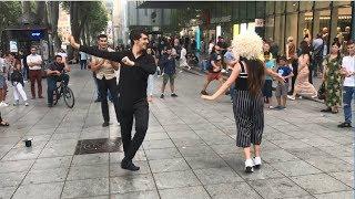 Лезгинка В Тбилиси 2019 Девушка Танцует Просто Четко С Парнями ALISHKA FATO ELVIN ABDULLA