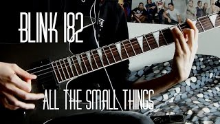 All In One Guitar Tutorial All The Small Things Blink 182