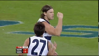 2009 AFL Round 1 Hawthorn Hawks v Geelong Cats (Full Game)