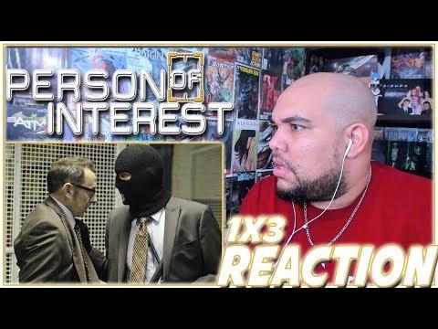 "Person Of Interest Reaction Season 1 Episode 3 ""Mission Creep"" 1x3 REACTION!!!"