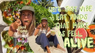 what I eat iฑ a day as a baddie prioritizing self-growth (a good day full of good eats)