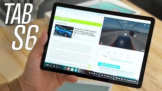 Galaxy Tab S6 - Better Laptop Replacement than iPad Pro?