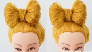 Техника плетения кос #14 - Детская прическа Бант. Bow Hairstyle