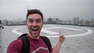 CHILLING ON HELICOPTER PADS IN VIETNAM - Vlog 142