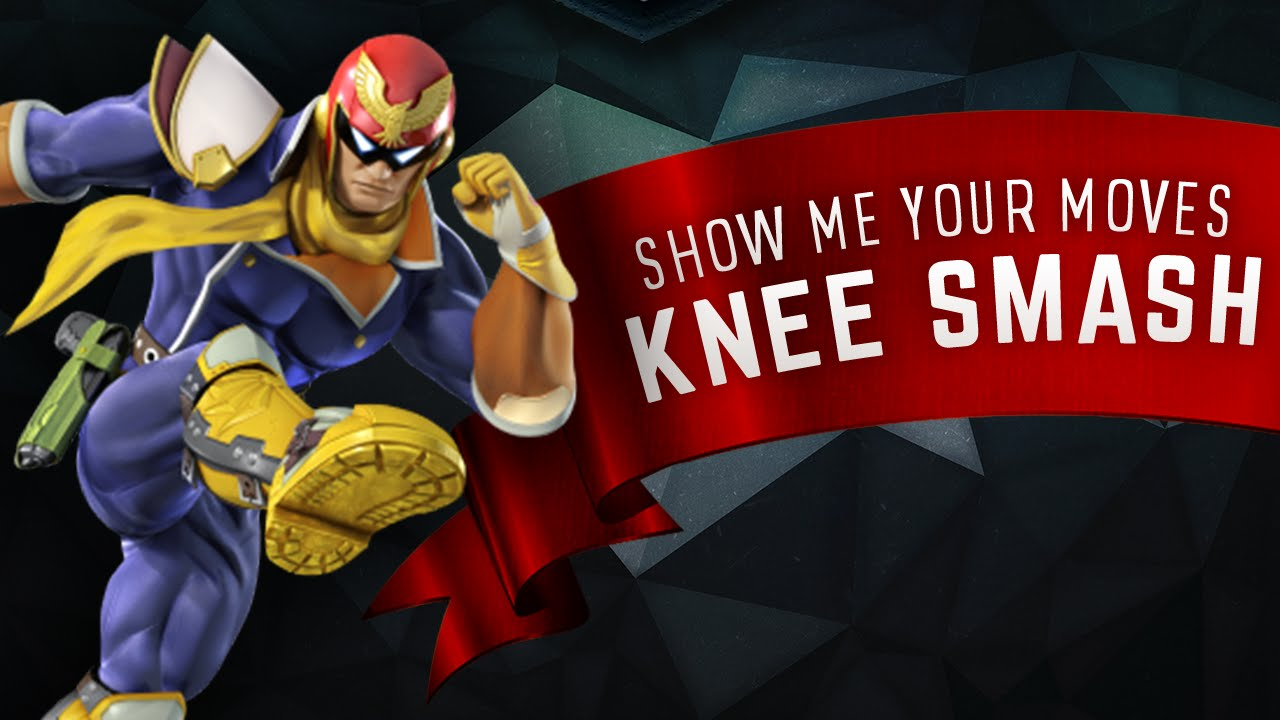 Captain Falcon's Knee Smash - Super Smash Academy
