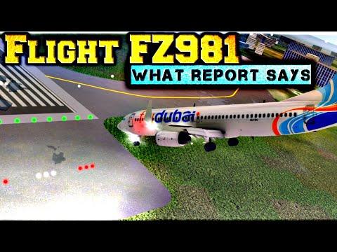 Air Crash Report, Fly Dubai FZ981