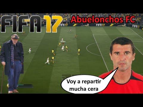 ABUELONCHOS FC - Roy Keane, llega el Roympepiernas || FIFA 17 FUT Ultimate Team Español
