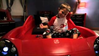 Step2 Corvette® Toddler To Twin Bed With Lights™