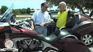 Honda Goldwing vs Harley Tour Classic vs Victory Vision