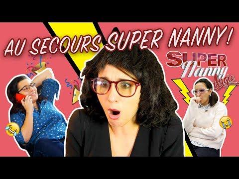 AU SECOURS SUPER NANNY ANGIE! PARODIE DE SUPER NANNY - ANGIE LA CRAZY SÉRIE