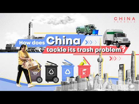 How Does China Tackle Its Trash Problem| CCTV English