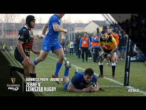 Guinness PRO14 Round 15 Highlights: Zebre v Leinster Rugby