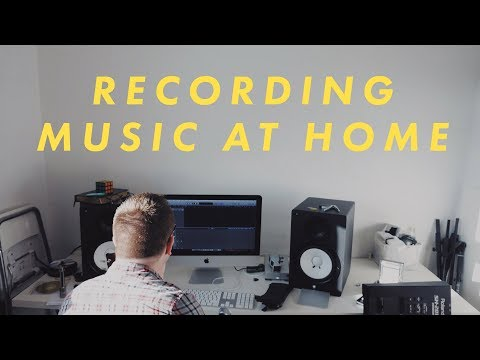 How To Record Music At Home (Part 1: The Gear)