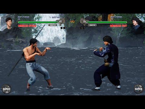Shaolin vs Wutang 2 : Monkey Style vs Drunken Fist (Hardest CPU) |