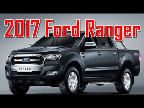 2017 ford ranger redesign interior and exterior youtube for Ford ranger wildtrak interior 2017