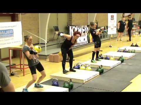 DM 2014. Kettlebell sport Danmark. Kvinder  LC 16+16
