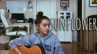 sunflower - post malone, swae lee (cover)