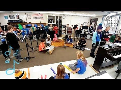 Olympic Theme - John Dearness Public School #CBCMusicClass