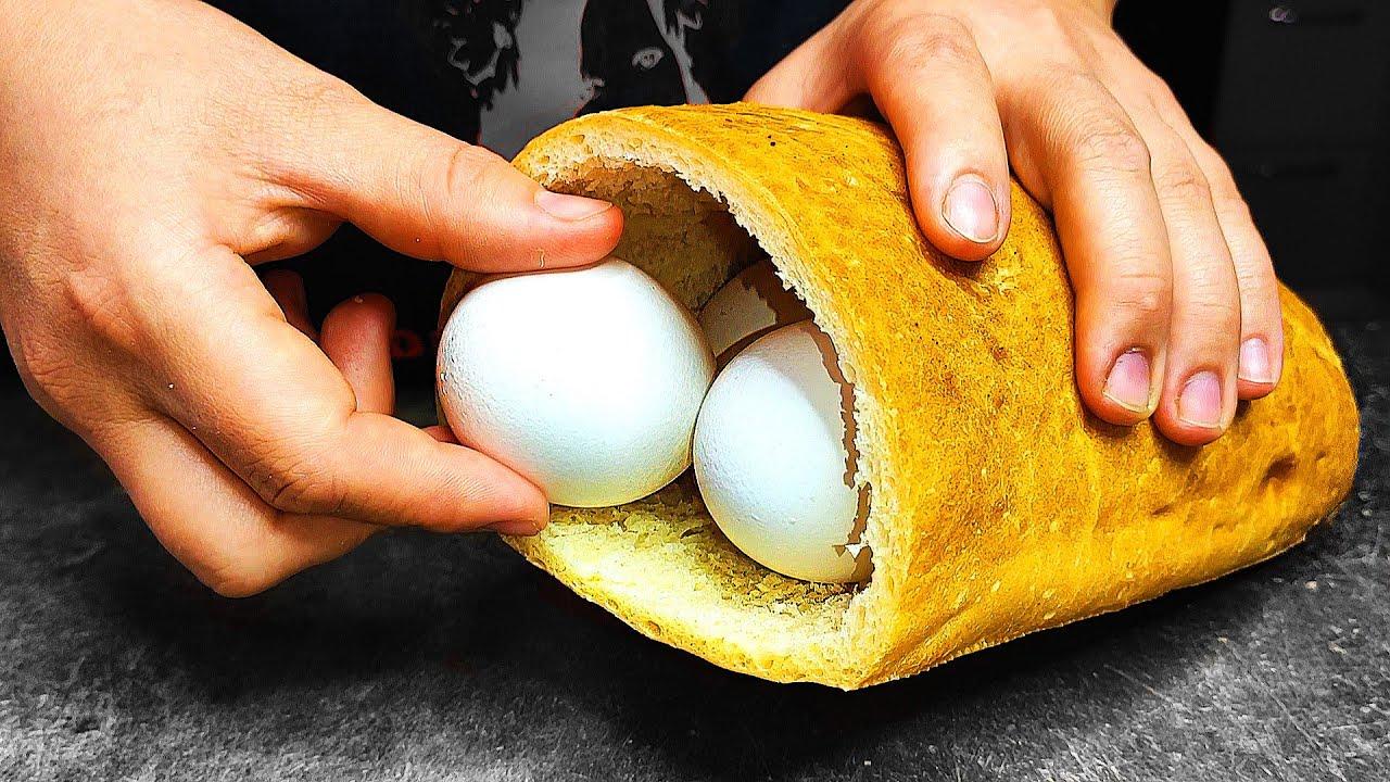 Обалденный ЗАВТРАК ЗА 5 МИНУТ! 4 простых рецепта на завтрак!