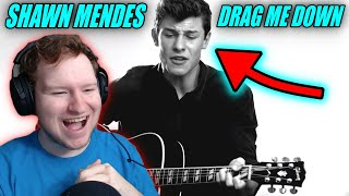"Shawn Mendes - ""Drag Me Down"" (One Direction Cover) REACTION!!!"