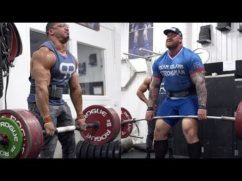 I ATE SHEEP BALLS AND DEADLIFTED WITH THE WORLDS STRONGEST MAN!