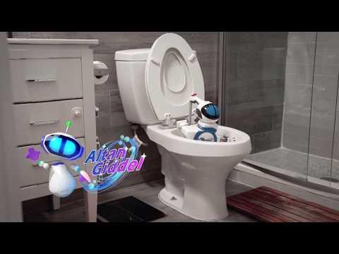 Installing Giddel - Toilet Cleaning Robot