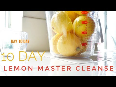 2018- 10 DAY| LEMON MASTER CLEANSE