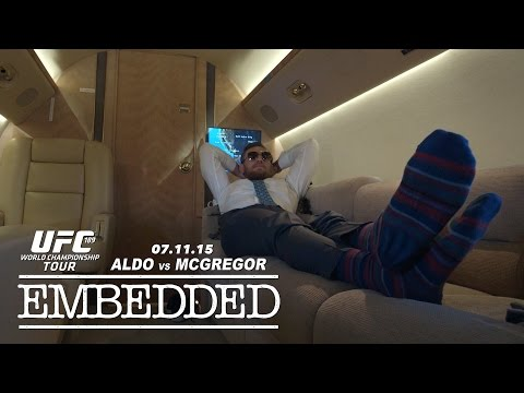 UFC 189 World Championship Tour Embedded: Vlog Series - Episode 4