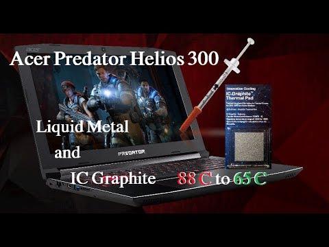 IC Graphite - Liquid Metal - Acer Predator Helios 300